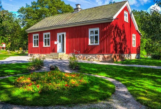 スウェーデンの窓