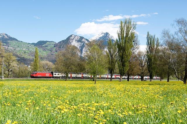 安定期の電車