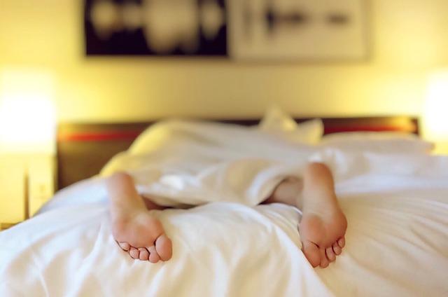 夫婦別の寝室