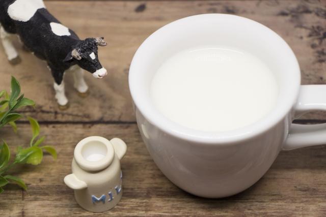 牛乳が苦い
